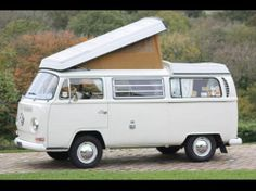 VW Bay Window Westfalia Campmobile Camper LHD 1969 Elevating Roof MOT And Taxed
