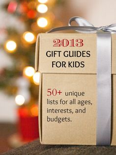 This is one of the best list of gift guides for kids on the internet: You will find every type of list that you need to buy the perfect gifts for your family! #50giftguides