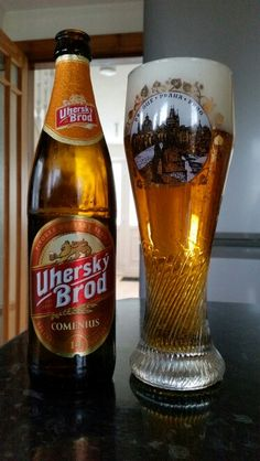 Uhersky Brod Comenius  A 6%ABV light special Czech Lager