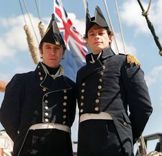 You know the Hornblower series? The series about a young Royal Navy officer during the Regency era? Well, I had long wanted to see this series, I'd heard such a lot of good Royal Navy Uniform, Men In Uniform, Navy Uniforms, Military Uniforms, Marines Uniform, Military Army, Ioan Gruffudd, British Costume, Paul Mcgann