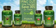 Irwin Naturals Products | nutritionw