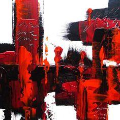 """Petra Wendelken, """"Spiegelung der Gefühle 1"""" Mit einem Klick auf """"Als Kunstkarte versenden"""" versenden Sie kostenlos dieses Werk Ihren Freunden und Bekannten."""