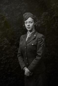 WAC Women's Army Corps Korpus Armijny Kobiet - USA Army Air Forces 1945