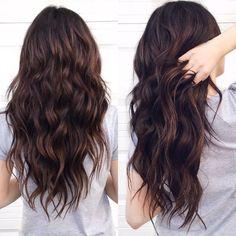 Dark Rich Chocolate Brown Hair Color