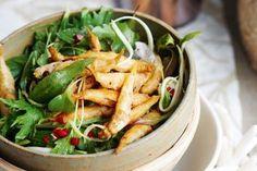 Thai salad with crispy whitebait