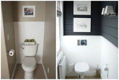 Szép és praktikus ötletek csúnya és pici panel WC felújításához Bath Design, Bad, Toilet, Catering Menu, Granola, Bathroom Ideas, Kitchens, Laundry Room, Guest Toilet