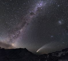 APOD: Three Galaxies and a Comet (2018 Jan 14) Credit & Copyright: Miloslav Druckmuller (Brno University of Technology) https://apod.nasa.gov/apod/ap180114.html