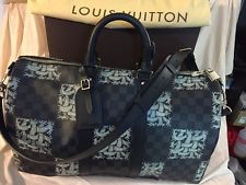 100% AUTHentic Louis Vuitton RARE Limited Ed Keepall Christopher Nemeth Rope Bag