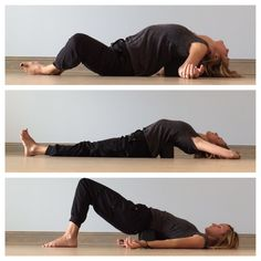 Yin yoga sequence for back pain More