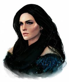 Yennefer by Dratova on DeviantArt