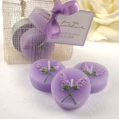 Trendy Ideas For Wedding Favors Lavender Diy Candles Candle Wedding Favors, Candle Favors, Wedding Party Favors, Wedding Gifts, Candle Holders, Lavender Crafts, Lavender Flowers, Lavender Candles, Wedding Lavender