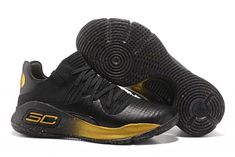 79a88bceebb Under Armour Curry 4 Low Black Gold For Sale Curry Basketball