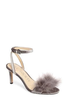 2eb2a738478dd3 Image of Sole Society Lindzay Feather Sandal Sandals