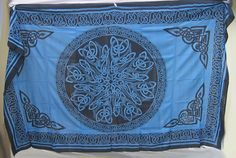 Celtic tapestry for home decoration : Celtic Tapestries. Colorful Tapestry, Blue Tapestry, Tapestry Wall Hanging, Bed Spreads, Wicca, Altar, Celtic, Mandala, Cheap Tapestries