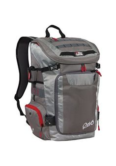 Abu Garcia Revo Fishing Tackle Backpack Bag W/ 4 Large Utility Boxes
