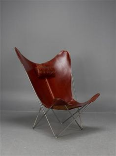 OX Denmarq, chair 'KS' Butterfly Chair, Ox, Homes, Furniture, Home Decor, Auction, Houses, Decoration Home, Room Decor