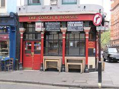 Coach & Horses - Soho's secret tea room. by Adam Sutton, via Flickr