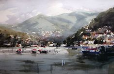Watercolours – examples (Sold) | Amanda Hyatt