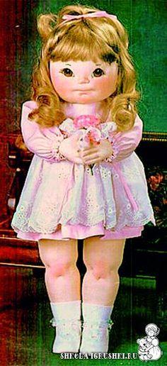 выкройка куклы - patten and tutorial