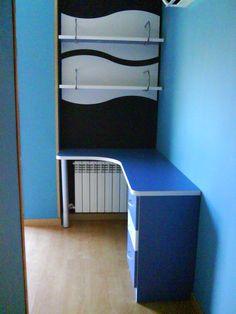 mesa escritorio para dormitorio juvenil
