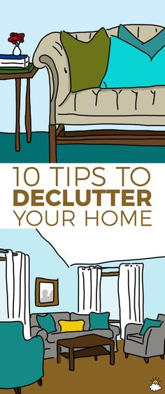 Follow these decorating tips for a house that looks completely clutter-free!