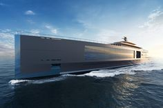 Dutch yacht design firm Sinot recently presented its 120-meter (394-ft) concept yacht during the Monaco Yacht...