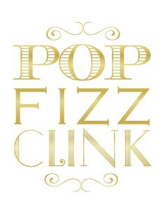 Pop Fizz Clink Printables by modernsoiree on Etsy Champagne Birthday, Champagne Party, Inspiration Wall, Journal Inspiration, Wedding Inspiration, Kate Spade Party, Brunch Wedding, Graduation Day, Three Words