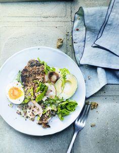 Salade quinoa, avocat et œufs pour 6 personnes - Recettes Elle à Table