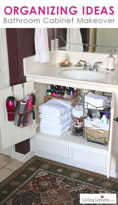 17.  Stay Organized Under Your Sink!
