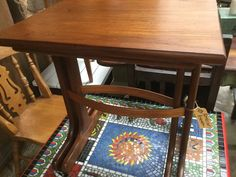 Retro nest of two tables R1390 @ heyjudes antiques barn find heyjudes on Facebook to view it - one off finds and 2 shops! Sunday Special, Barn Finds, Nest, Dining Chairs, Tables, Shops, Facebook, Retro, Antiques