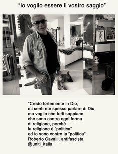Roberto Cavalli e il progetto: Uniti_Italia #unitiitalia @uniti_italia #cavalli #fashion #style #politics #berlusconi http://soundcloud.com/cocci-inthenet/roberto-cavalli-e-il-progetto