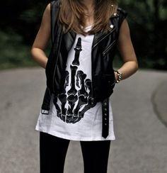 ❤ this shirt!! #edgy #fashion