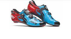 SIDI Wire Carbon Vernice Push Rennradschuhe Blue Black Red 2017 - Rider-Store - Die ganze Welt der Bikes & Parts - Mountainbikes, MTB Rahmen und Mountainbike Zubehör von namhaften Herstellern wie Ghost, Pinarello, Yeti, Niner, Mavic und Fox