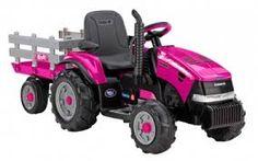 Ertl Big Farm Peterbilt Model 579 Semi with Lowboy and Case IH MX305 Tractor Backhoe Loader TOMY 46358
