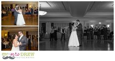 Bride and Grooms first dance. Devens Common Center Wedding. photography by www.mrdrewphotography.com