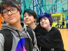 Justin, Fynn and Kana