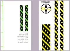 8 strand kumihimo pattern