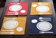 Montessori Placemat by NaturaBaby on Etsy