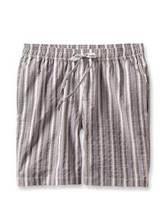 70% OFF Onia Men's Charles Swim Trunk (Purple Stripe)
