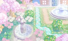 "mayorchibi: ""Crystal mis à jour! ♡ DA: 5100 ~ 5898 ~ 3480 "" - New Ideas Acnl Paths, Sailor Moon, Motif Acnl, Animal Crossing 3ds, Ac New Leaf, Happy Home Designer, Cute Games, Like Animals, Cute Pokemon"