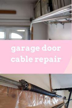 Garage Door Stuck or Won't Open? Don't Worry, Our Team Is Standing By To Help You. Garage Door Cable, Garage Door Repair, Garage Doors, Ontario, Carriage Doors