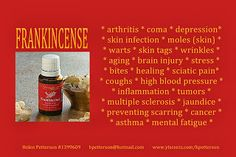 Young Living Essentials Oils Frankincense...My Member Number: 1458528. or my website  http://tammy.marketingscents.com/