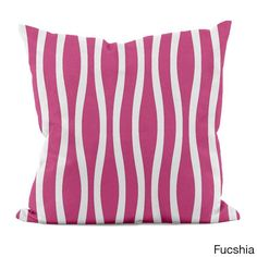 E by Design 20 x 20-inch Curvy Decorative Throw Pillow