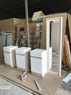 Interior Door Trim, Carpenter Work, Door Trims, Plywood, Office Desk, Counter, Woodworking, House Design, Doors