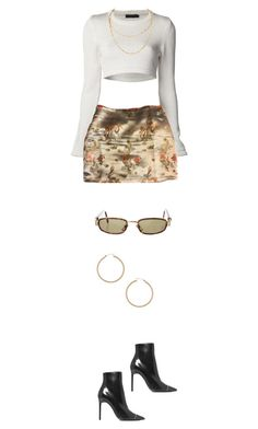 """Untitled #424"" by s-junior on Polyvore featuring Yves Saint Laurent, ERTH and Versace"