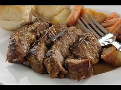 Searching for the best pot roast recipe? Maybe you want to know how to cook a roast. Mike from GetMyTips.com, shares his beef roast recipe that only has 4 ingredients including the beef! This is one of the best slow cooker recipes you are going to find because the prep time is only about 10 minutes. And best of all, you do not need a slow cooker. This is a great recipe for men or women who do not do a lot of cooking and need to impress a date for dinner.