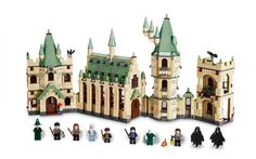 Lego Hogwarts Castle - my husband and I helped our son build this in less than two days. I love all the little details.