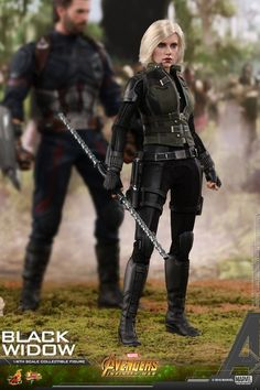 Black Widow is the latest release revealed Hot Toys figure from Avengers: Infinity War! Featuring multiple accessories and interchangeable parts, she looks fantastic. Black Widow Scarlett, Black Widow Natasha, Marvel Avengers Comics, Marvel Heroes, Best Action Figures, Black Widow Avengers, Captain America Movie, Latest Outfits, Infinity War