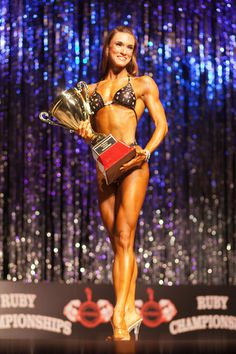 My Competition Meal Plan | Kristin Shaffer Figure & Bikini