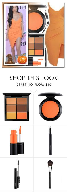 """Fall Beauty: Orange Crush"" by shoaleh-nia ❤ liked on Polyvore featuring beauty and MAC Cosmetics"